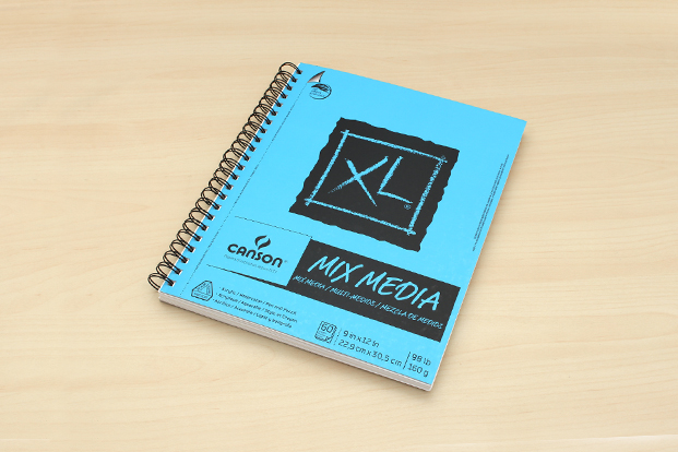 Watercolor Calligraphy Supplies: Canson XL Mix Media Pad