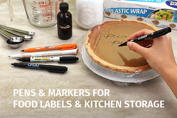 Pens & Markers for Food Labels & Kitchen Storage