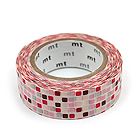 Mt Deco Masking Tape - Tile Pink