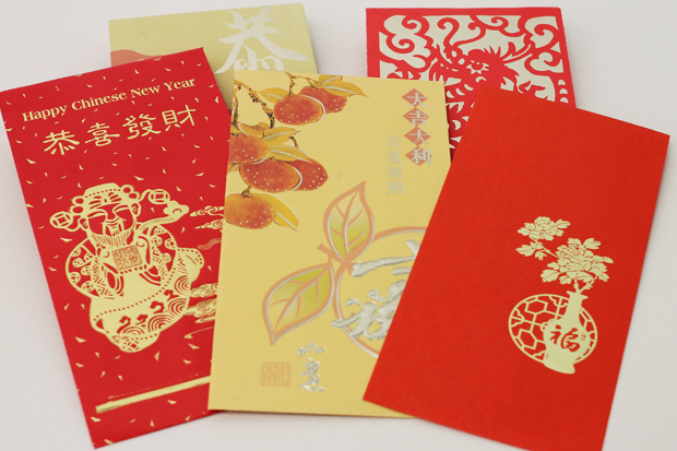chinese new year red envelopes and other stationery - Red Envelopes Chinese New Year
