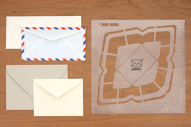 Various Types and Sizes of Envelopes