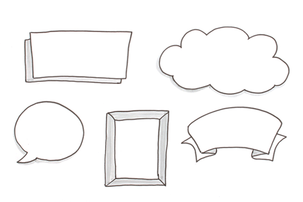 Elements of Sketchnoting: Containers