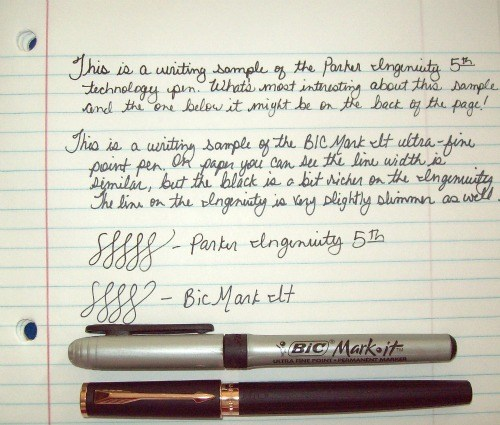 Parker Ingenuity 5th Technology Writing Sample