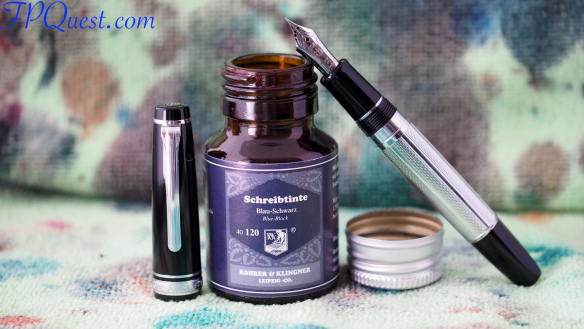 Sailor Pro Gear Regency Stripe extra fine with R&K Blau-Schwarz LE