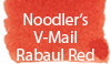 Noodler's V-Mail Rabaul Red