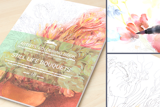 Pepin Artist Coloring Books