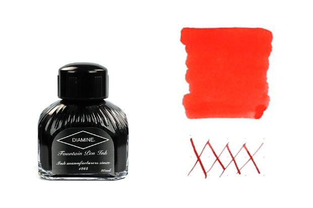 For Grabbing Attention: Diamine Poppy Red
