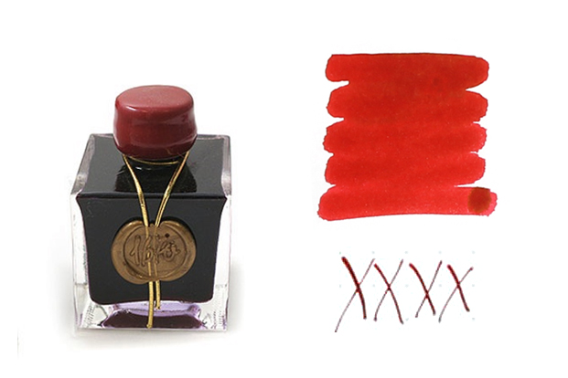 For Holiday Cards: J. Herbin 1670 Rouge Hematite