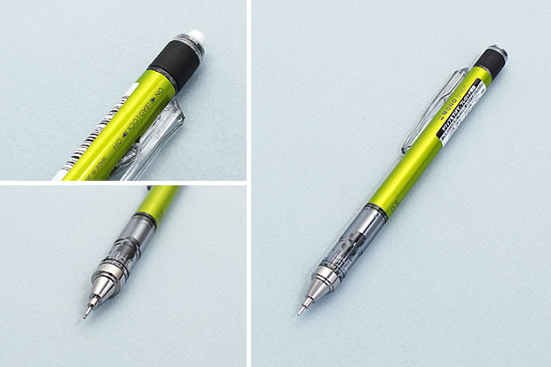 Tombow Mono Graph Shaker Mechnical Pencil Features