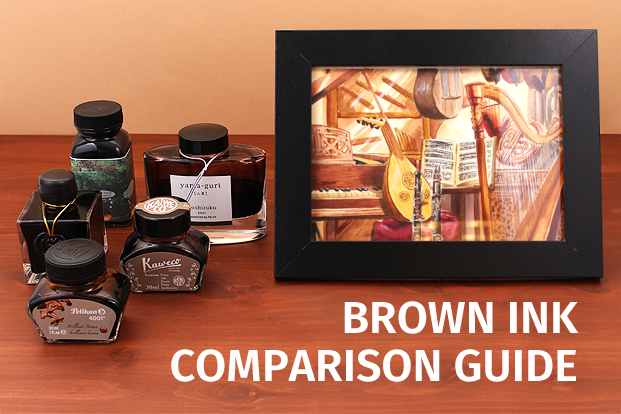 brown fountain pen ink comparison best pen reviews buying guide