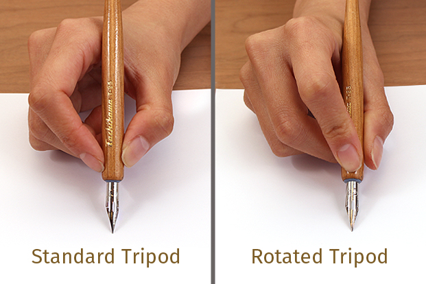 Rotate your grip to exert more pressure with your index finger.
