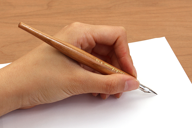 Angle your paper to the right for more comfortable writing.