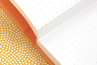 Wide-Spaced Notebook Page Perforations