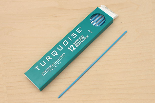 Prismacolor Turquoise Non-Photo Drawing Leads