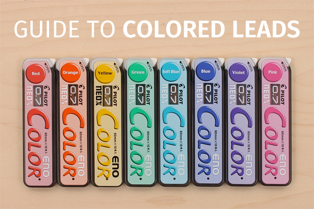 Colored Mechanical Pencil Leads