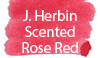 J. Herbin Scented Rose Red