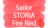 Sailor STORiA Fire Red