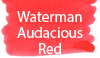 Waterman Audacious Red