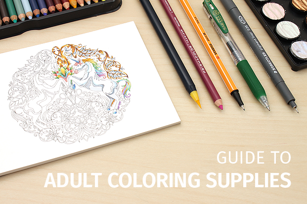 Adult Coloring Book Tools