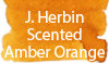 J. Herbin Scented Amber Orange