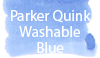 Parker Quink Washable Blue