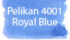 Pelikan 4001 Royal Blue