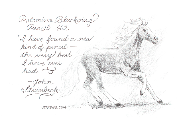 Blackwing 602 Art and Writing Sample