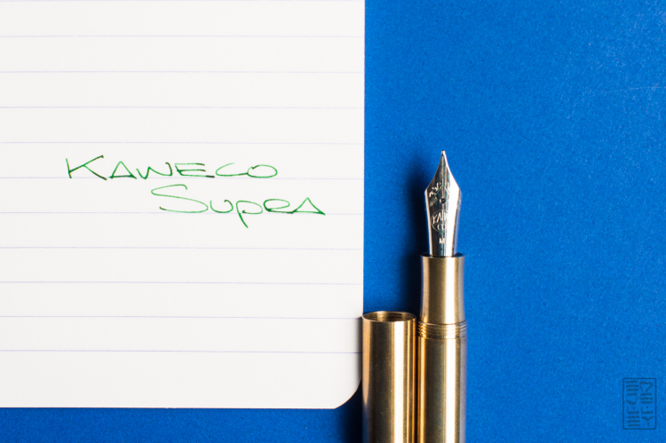 Kaweco Supra Fountain Pen Review-11