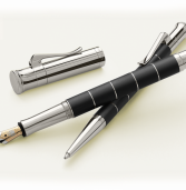 The Graf von Faber-Castell Classic Anello Fountain Pen is a stand-out pen in classic designs and a best legacy pen