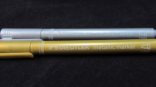 Staedtler Metallic Gold and Silver Markers