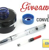 Lamy Converter Set Giveaway