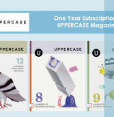 Win a 1-Year Subscription to UPPERCASE Magazine!
