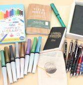 New Products: Pocket Notebooks, Metallic Brush Pens, Passport Holders, Erasable Color Pencils, and Fountain Pens For Your Everyday Carry!