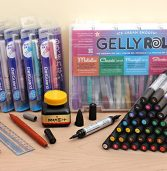 New Products: Winsor  Newton Watercolor Markers, DelGuard Mechanical Pencils, Kaimei Sumi Ink, Raymay Brush Pens, and More!