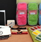 New Products: Watercolor Pans, Sketchbooks, Pen Cases, Notebook Bands, Other Sketch Products, and More!