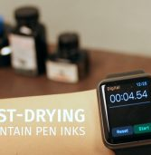 Fast-Drying Fountain Pen Inks