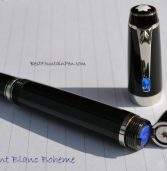 Montblanc Boheme Bleu Fountain Pen Review