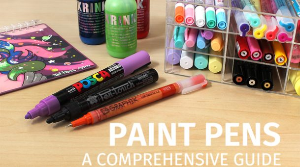 Paint Pens: A Comprehensive Guide
