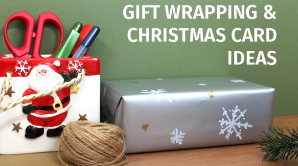 Gift Wrapping  Christmas Card Ideas