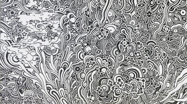 Pen Pals Interview: Arlen Dean Shares Incredibly Detailed, Microscopic Line Art