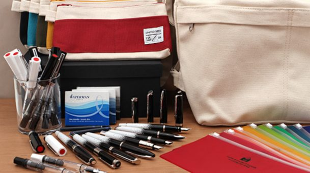 New Products: Chic Fountain Pens, Cool Backpacks, Colorful Pen and Zipper Cases, and More!