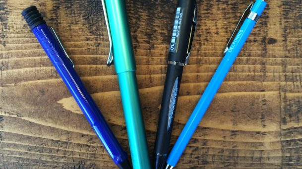 Ballpoint vs Rollerball – What is the difference between ballpoint and rollerball pens?