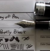 Ink  Pen Notes: Sailor Pro Gear King of Pen with Bookbinders Red-BellyBlack