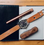 Not Stationery: One Star Leather Goods Shell Cordovan Watch StrapReview
