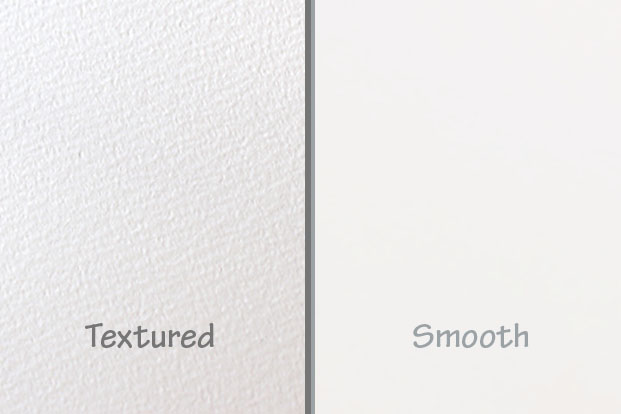 Textured vs smooth paper