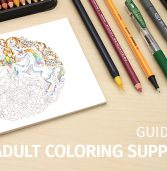 Explore the fantastic world of adult coloring supplies