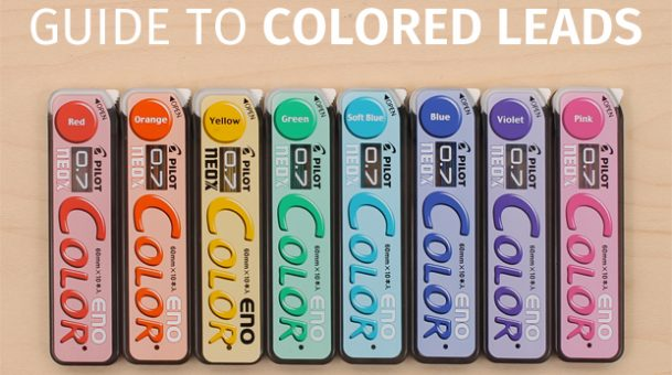 The Guide to Choose The Colored Mechanical Pencil Leads