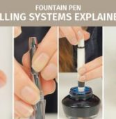 Explanation of Fountain Pen Filling Systems