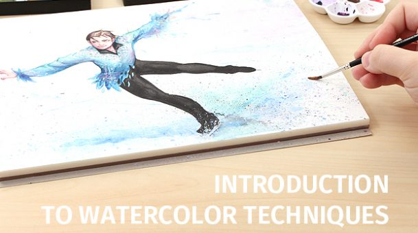 Something About Watercolor Techniques