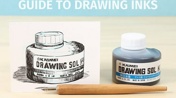 The Guide to Choose Drawing Inks